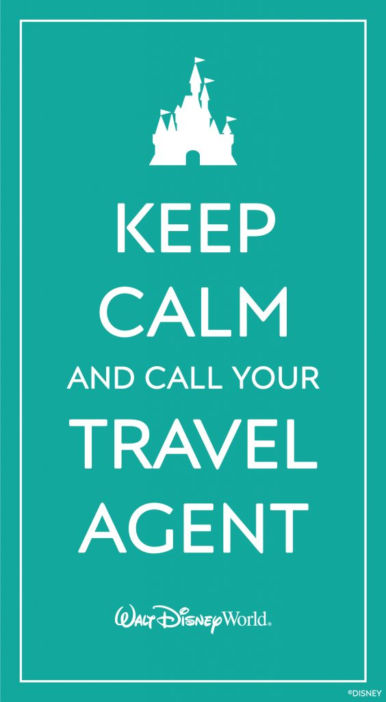 Keep calm and call your Disney travel planner! :) Visit Disney World in 2021