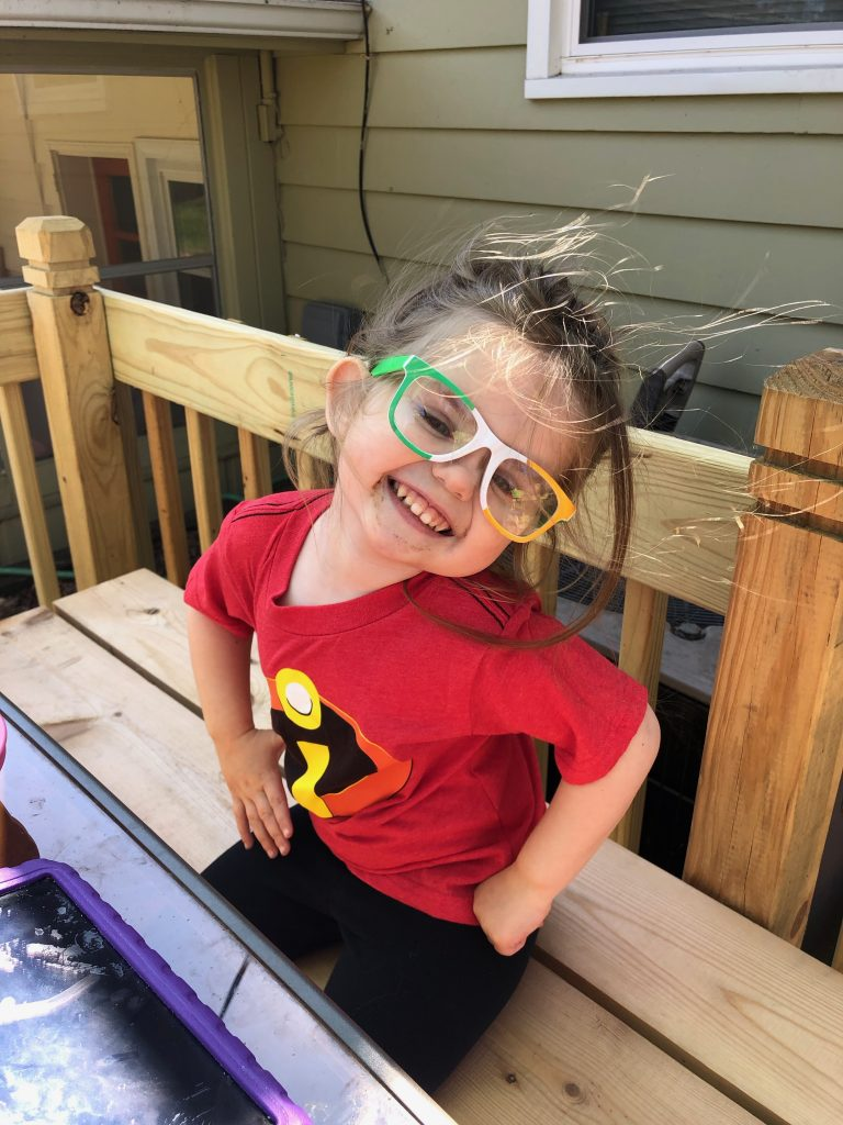 You can be any super hero you want! Pretend play is a great way to bring Disney inspired play into your home.