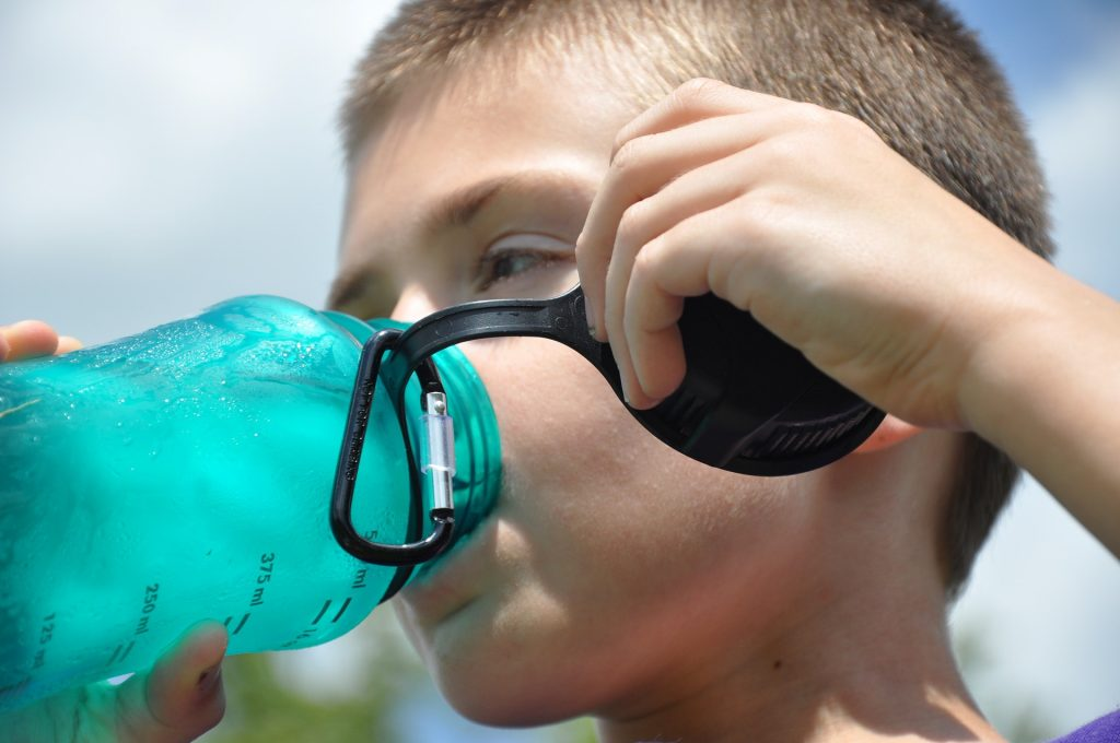 Keep hydrated at Disney by bringing your own reusable water bottle.