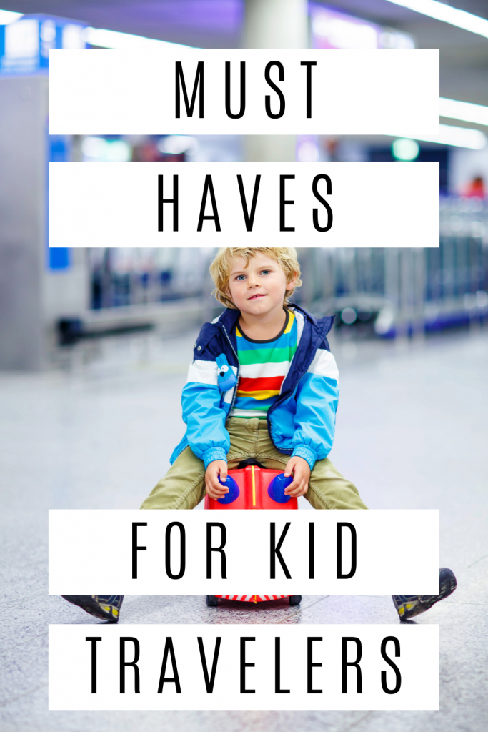 If you're traveling with children, you're going to need these four things! Save your sanity by planning ahead. Number 2 is an absolute must.